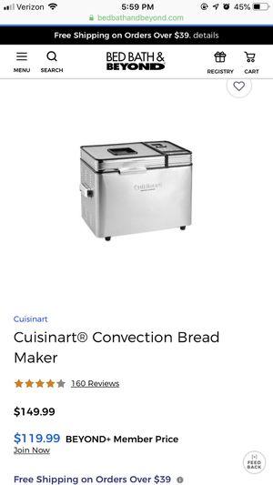 Cousinart Bread Maker for Sale in Naples, FL