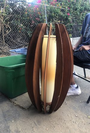 Large Mid century swag light for Sale in Ontario, CA