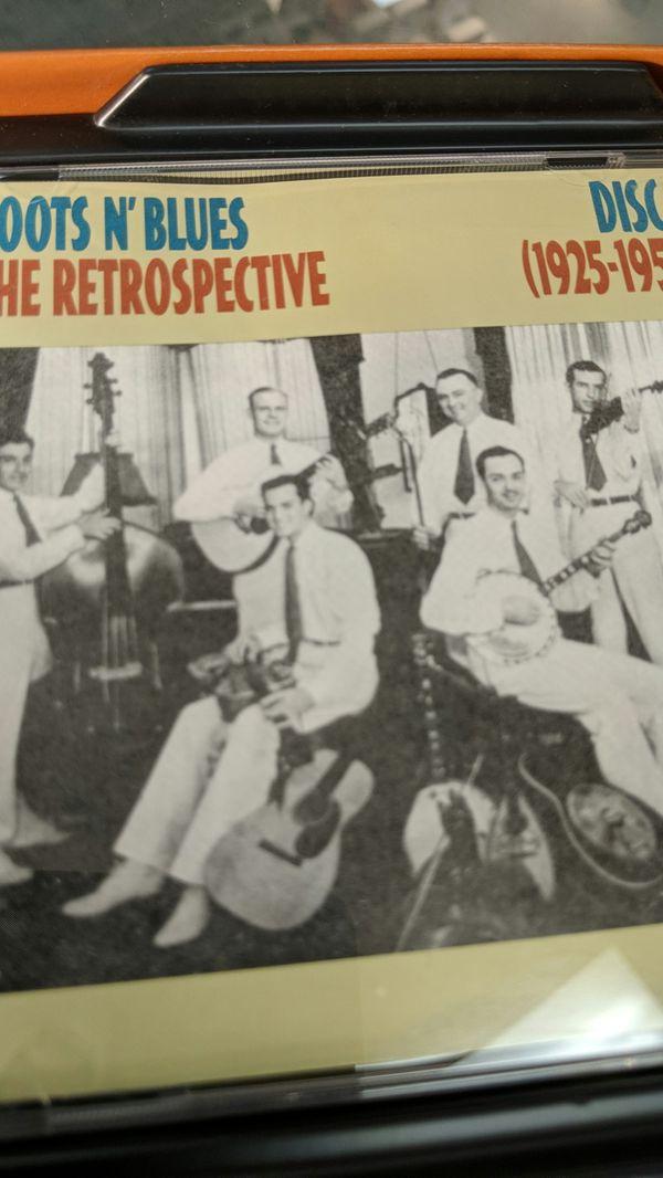 CD RETROSPECTIVE 1925 to 1950 music blues