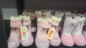 Snow boots for kids for Sale in Riverside, CA