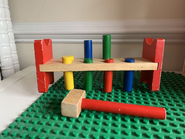 Wooden play toys