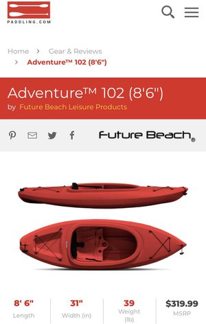 "Adventure™ 102 (8'6"") kayak for Sale in Raleigh, NC"