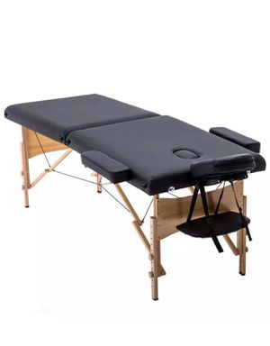 Massage Table FOR SALE Massage Bed Spa Portable 2 Folding w/Carrying Case NEW for Sale in Brentwood, CA
