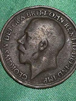 UK 1919 One Penny for Sale in Jensen Beach,  FL