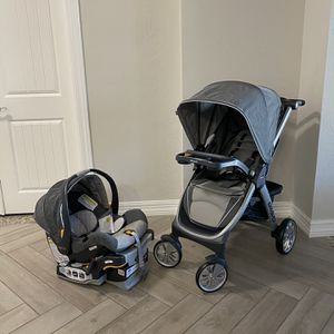Chicco Bravo Trio Travel System // Stroller + Car Seat // Orion BRAND NEW IN BOX for Sale in Peoria, AZ