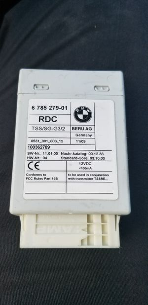 BMW RDC MODULE, TYRE/TIRE PRESSURE MONITORING for Sale in Miramar, FL