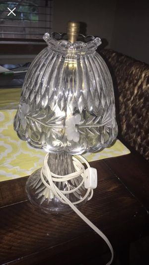 Princess house crystal lamp for Sale in Colonial Heights, VA