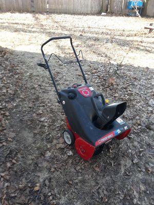 Troy built snow blower start on frist pull $115.00 for Sale in Detroit, MI