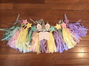 Unicorn Birthday Decorations for Sale in Ellwood City, PA