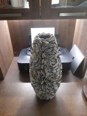 Seashell flower vase for Sale in Wildomar, CA