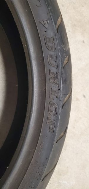 Dunlop Front motorcycle tire for Sale in North Providence, RI