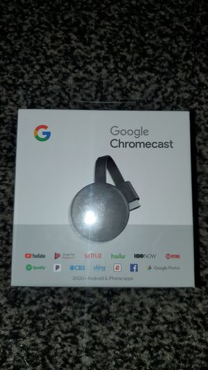 GOOGLE CHROMECAST for Sale in Clearwater, FL
