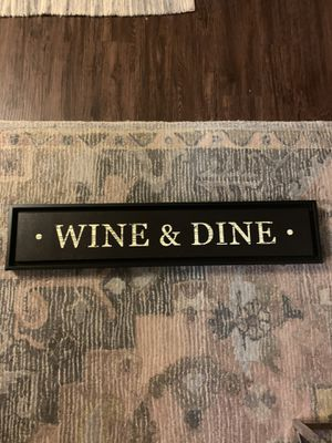 Wine and Dine sign for Sale in Austin, TX