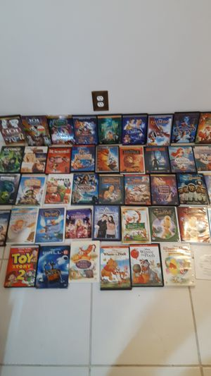 Disney DVDs $4 each or 2 for $7, see titles below for Sale in Sunrise, FL