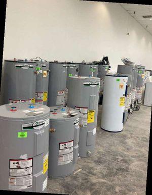Water heater sale 30-50 gallon 1W1 for Sale in Houston, TX