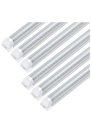 8FT LED Shop Light Fixture, 72W 7200LM, 6000K Cool White, V Shape (1-Pack) for Sale in Rancho Cucamonga, CA