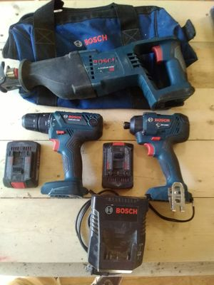 Bosch cordless tools for Sale in Kingston, OK