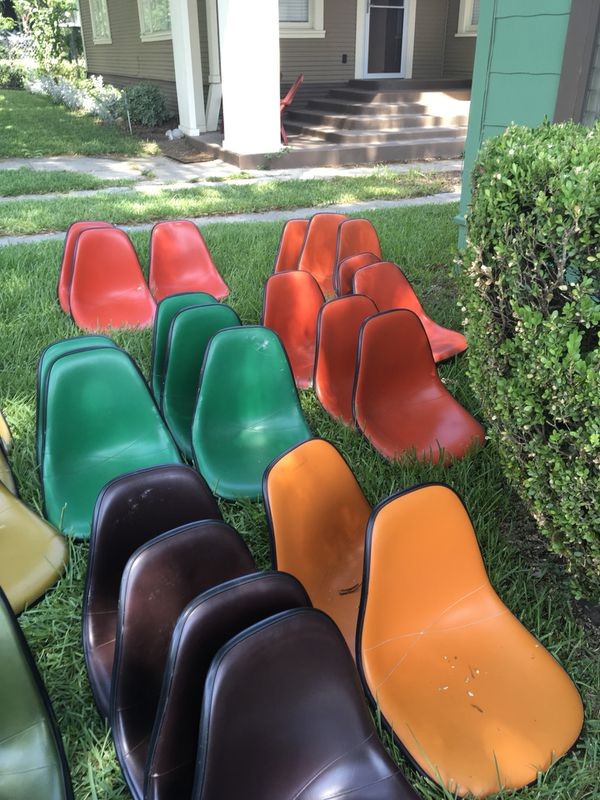 Herman miller mid century modern shell chairs mcm vintage
