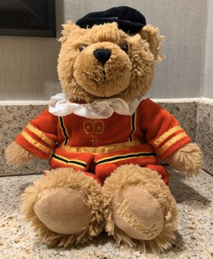 "Brand new Harrods ""Beefeater Bear"" collectible teddy bear for Sale in Plantation, FL"