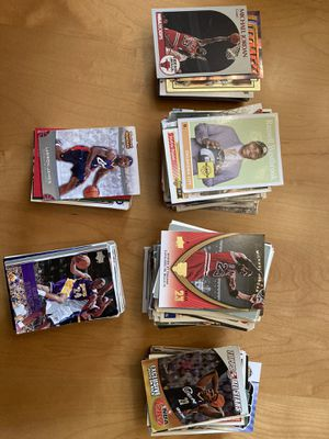 Lot of Basketball, football, baseball cards for Sale in Cupertino, CA