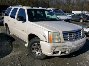 2003 CADILLAC ESCALADE LUXURY 6.0L 297507 Parts only. U pull it yard cash only. for Sale in Temple Hills, MD