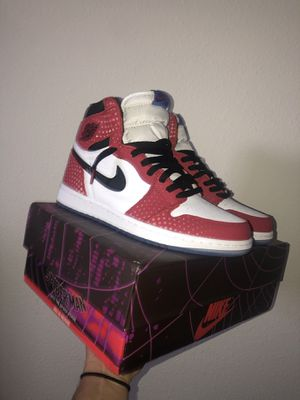 "Jordan 1 high ""spider-man origin story"" for Sale in Haines City, FL"