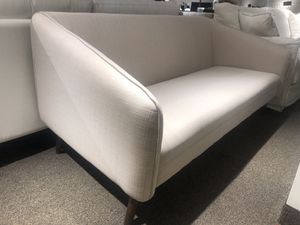 Beige fabric couch for Sale in Rockville, MD