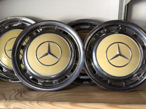 Vintage 1960s Mercedes Hubcaps for Sale in Florissant, MO