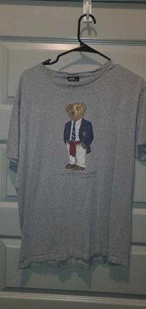 Vintage Ralph Lauren Polo Bear tshirt Size M for Sale in Centreville, VA