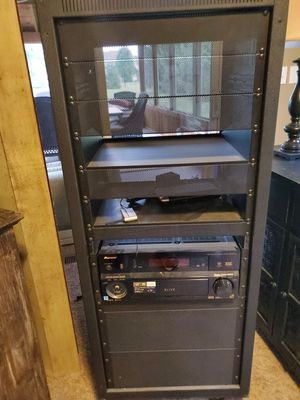 In home stereo system with rack for Sale in Delaware, OH