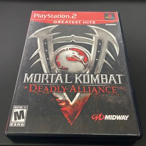 Ps2 Mortal Kombat Deadly Alliance for Sale in Bothell, WA
