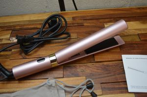 "Horatii 1.25"" Hair Straightener 2 in 1 Curling Iron Ceramic Rose Gold READ for Sale in Walnut, CA"