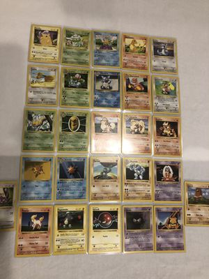 Pokemon Cards - Base Set Shadowless - Uncommon / Common collection for Sale in FL, US