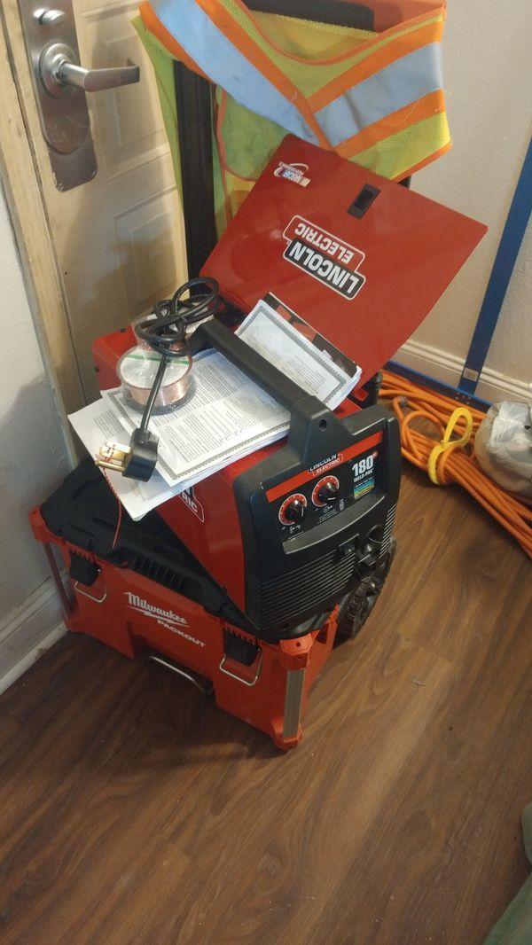Lincoln Electric Mig/Flux Welder 180 Pak