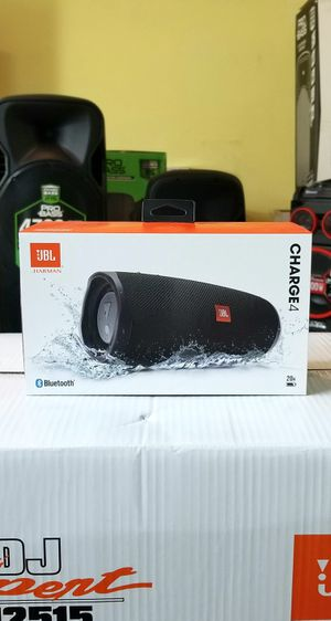 Speaker JBL Charge 4. 20 hours of playing time. Waterproof. Powerbank. Bluetooth. BRAND NEW for Sale in Doral, FL
