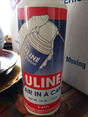 Air in a can for Sale in Irvine, CA
