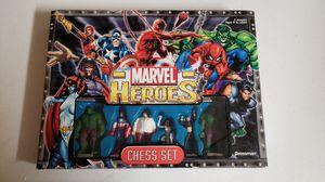 Marvel superheroes chess set for Sale in Las Vegas, NV