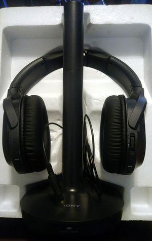 Sony wireless headphones for Sale in Fresno, CA