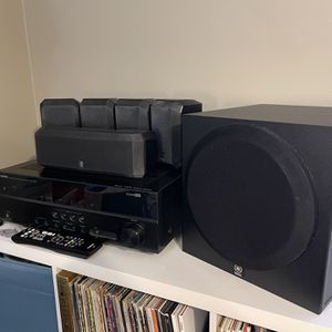 Yamaha 5.1 Home Theater System for Sale in Virginia Beach, VA
