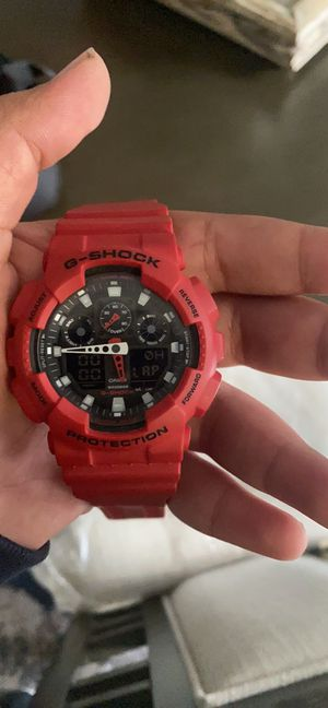 G shock watch asking 55 for Sale in Fresno, CA
