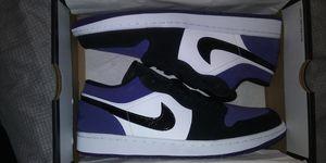 Jordan 1 Low Court Purple for Sale in Houston, TX