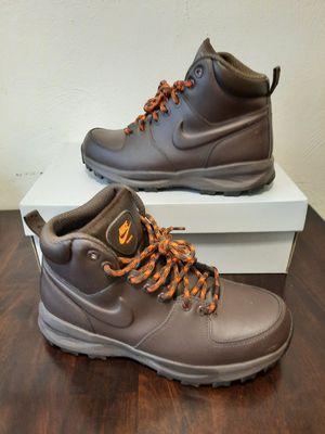 Nike ACG Manoa Drk Brwn Leather Work Sneaker Boots for Sale in Carrollton, VA