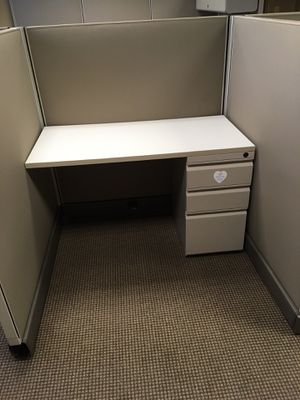 Cubicle with 3 connected desks for Sale in Atlanta, GA