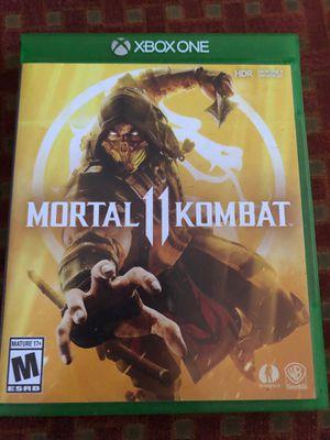 Mortal Kombat 11 for Xbox One for Sale in Norwalk, CA
