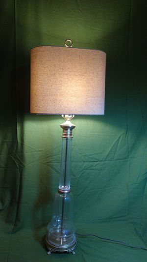 Vintage gold on glass Lamp & shade for Sale in St. Louis, MO