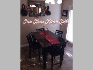 Farmhouse table for Sale in Eagle Mountain, UT