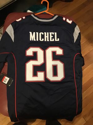 Michels patriots jersey. Brand new never worn.. for Sale in Weymouth, MA