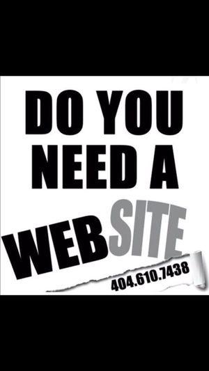 Website and Graphics Design for Sale in Atlanta, GA