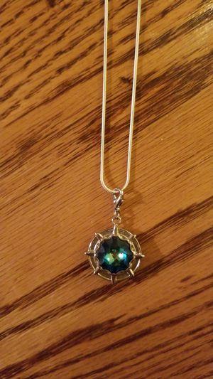 Pretty Green Stone Necklace for Sale in Wichita, KS