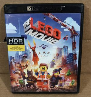 The Lego Movie 4K Ultra HD (No digital) for Sale in San Fernando, CA